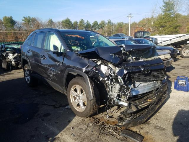 Salvage cars for sale from Copart Exeter, RI: 2019 Toyota Rav4 XLE