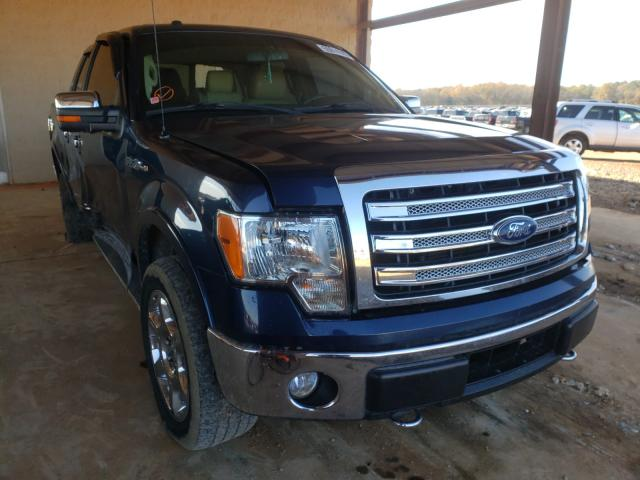 Salvage cars for sale from Copart Tanner, AL: 2014 Ford F150 Super