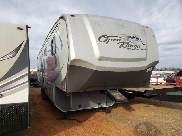 Open Road salvage cars for sale: 2012 Open Road 5th Wheel
