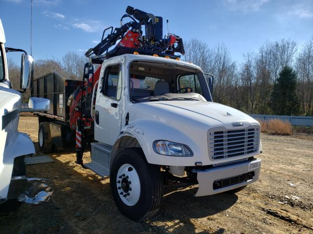 Salvage cars for sale from Copart Chatham, VA: 2021 Freightliner M2 106 MED