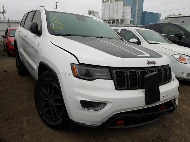 Jeep Vehiculos salvage en venta: 2017 Jeep Grand Cherokee