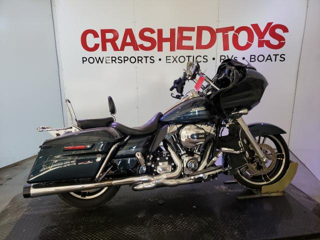 Salvage cars for sale from Copart Kansas City, KS: 2016 Harley-Davidson Fltrxs ROA