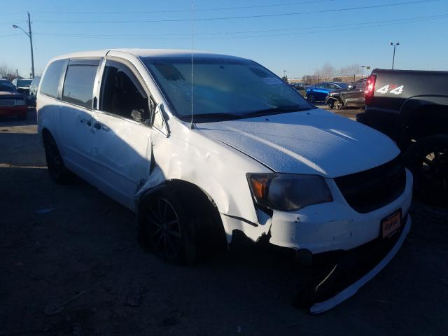 Salvage cars for sale from Copart Indianapolis, IN: 2017 Dodge Grand Caravan