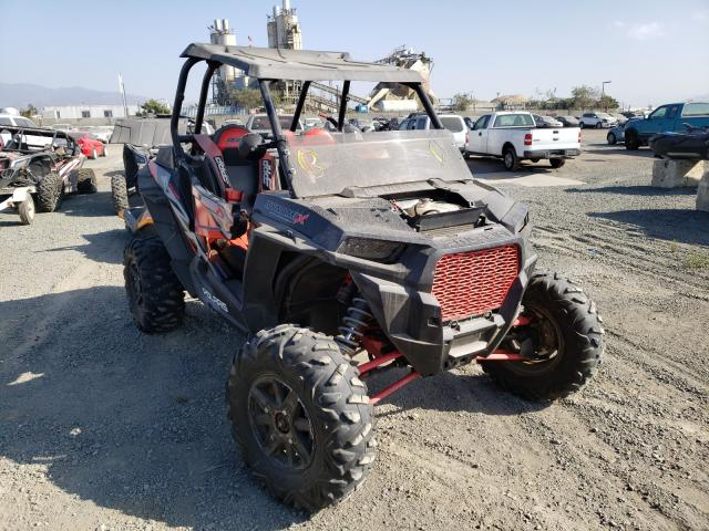 Salvage cars for sale from Copart San Diego, CA: 2018 Polaris RZR XP Turbo