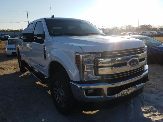 Salvage cars for sale from Copart Newton, AL: 2019 Ford F250 Super