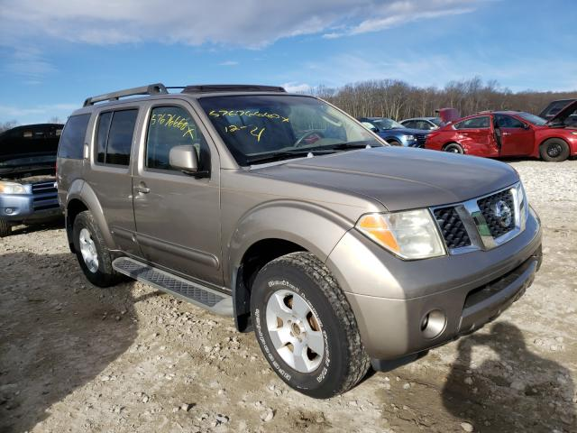 Salvage cars for sale from Copart West Warren, MA: 2007 Nissan Pathfinder