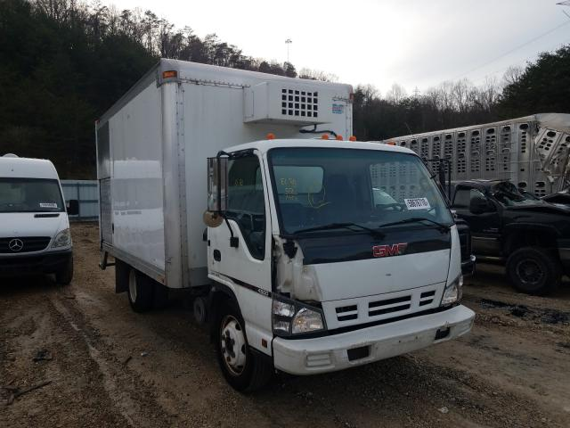 Salvage cars for sale from Copart Hurricane, WV: 2007 GMC W4500 W450
