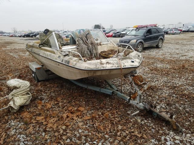 Salvage cars for sale from Copart Cicero, IN: 1974 Glastron Boat Only
