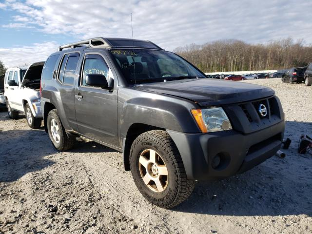 Salvage cars for sale from Copart West Warren, MA: 2007 Nissan Xterra OFF