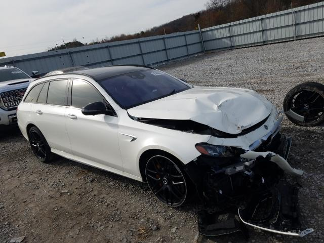 Salvage cars for sale from Copart Prairie Grove, AR: 2020 Mercedes-Benz E 63 AMG-S