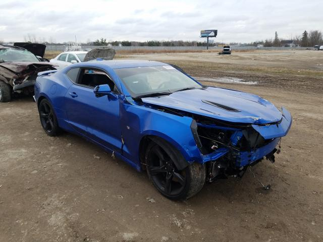 Salvage cars for sale from Copart Cicero, IN: 2018 Chevrolet Camaro SS