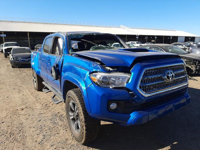 Salvage cars for sale from Copart Phoenix, AZ: 2017 Toyota Tacoma DOU