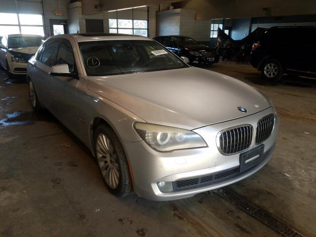 Salvage cars for sale from Copart Sandston, VA: 2009 BMW 750 LI