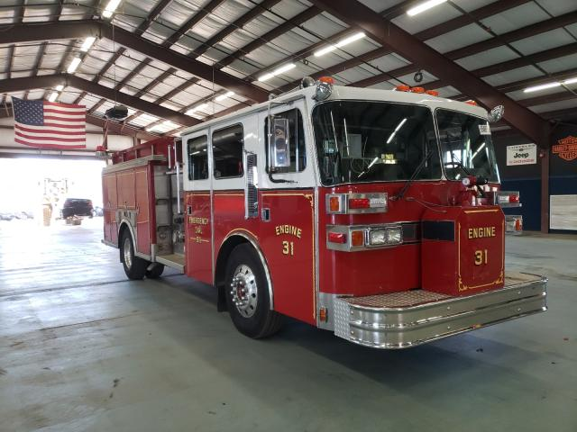Salvage cars for sale from Copart East Granby, CT: 1989 Sutphen Corp. Fire Truck