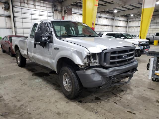Ford F250 Super salvage cars for sale: 2003 Ford F250 Super