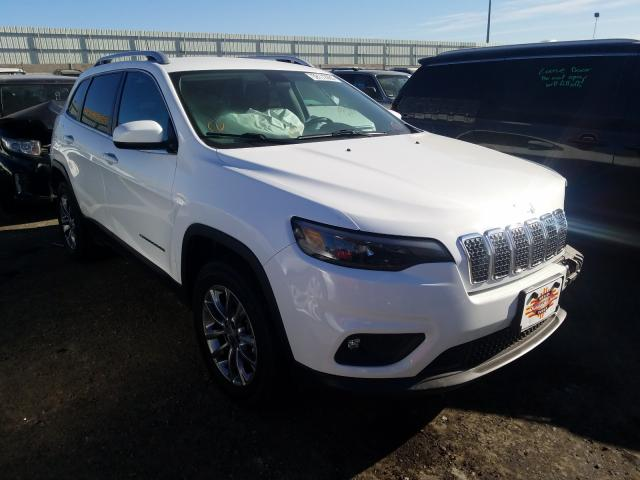 Salvage cars for sale from Copart Albuquerque, NM: 2019 Jeep Cherokee L