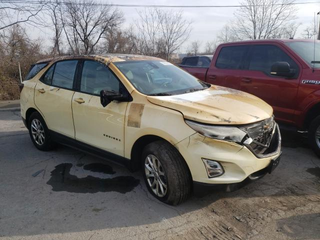 Chevrolet Equinox LS salvage cars for sale: 2019 Chevrolet Equinox LS