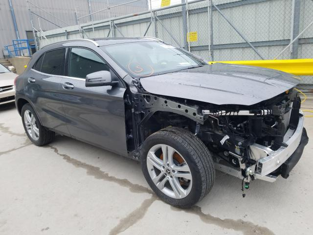 Salvage cars for sale from Copart Lawrenceburg, KY: 2019 Mercedes-Benz GLA 250 4M