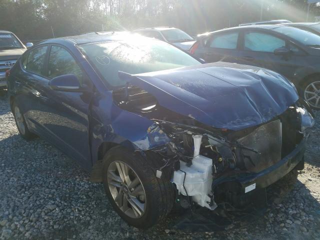 Salvage cars for sale from Copart Tifton, GA: 2019 Hyundai Elantra SE