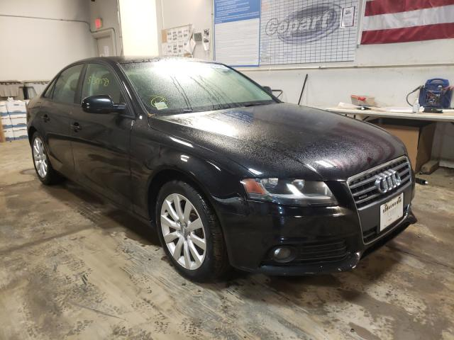Audi A4 salvage cars for sale: 2012 Audi A4