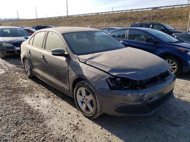 Salvage cars for sale from Copart Northfield, OH: 2012 Volkswagen Jetta TDI