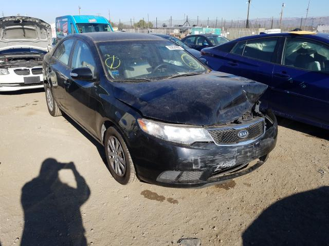 Salvage cars for sale from Copart San Martin, CA: 2010 KIA Forte EX