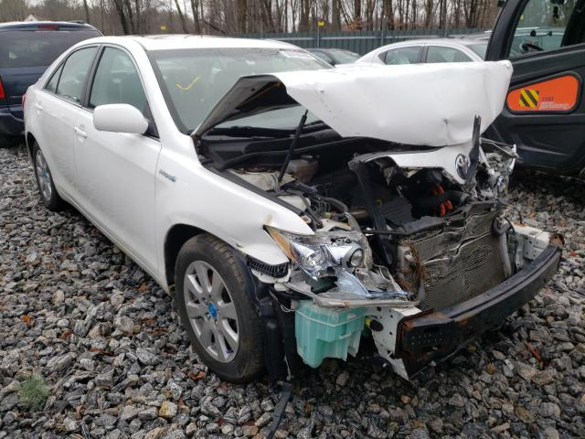 Salvage cars for sale from Copart Candia, NH: 2007 Toyota Camry Hybrid