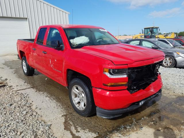 Salvage cars for sale from Copart Tifton, GA: 2016 Chevrolet Silverado