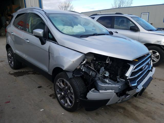 Salvage cars for sale from Copart Duryea, PA: 2020 Ford Ecosport T