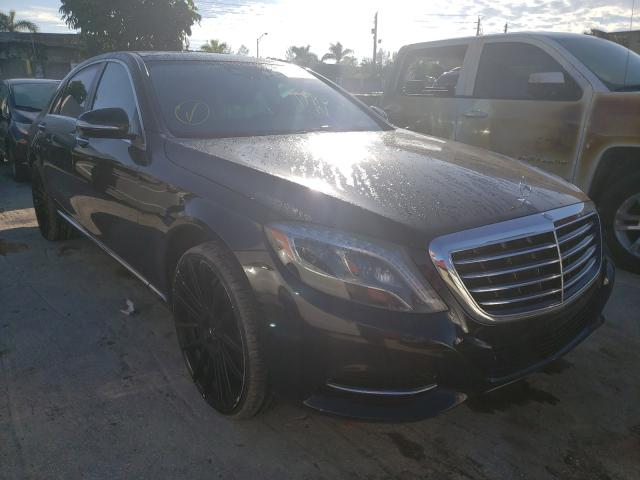 Salvage cars for sale from Copart Opa Locka, FL: 2017 Mercedes-Benz S 550 4matic