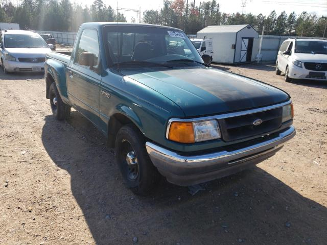 Salvage cars for sale from Copart Charles City, VA: 1996 Ford Ranger