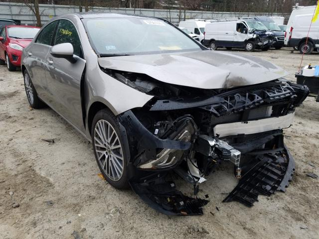 Salvage cars for sale from Copart Mendon, MA: 2020 Mercedes-Benz CLA 250 4M