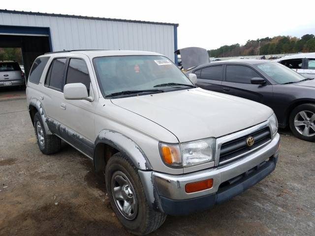 Salvage cars for sale from Copart Shreveport, LA: 1997 Toyota 4runner LI
