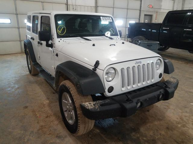 Salvage cars for sale from Copart Columbia, MO: 2018 Jeep Wrangler U