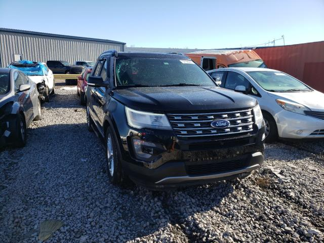 Salvage cars for sale from Copart Hueytown, AL: 2017 Ford Explorer L
