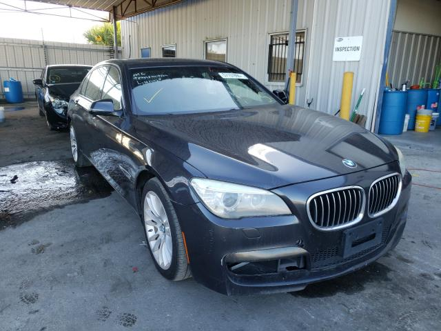Salvage cars for sale from Copart Orlando, FL: 2013 BMW 750 LXI