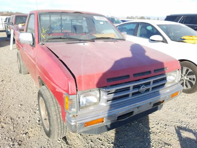 Salvage cars for sale from Copart Anderson, CA: 1991 Nissan Truck Shor