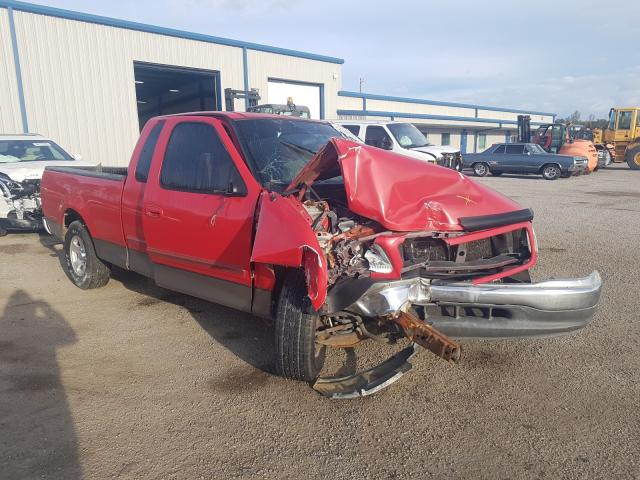 Salvage cars for sale from Copart Harleyville, SC: 2002 Ford F150