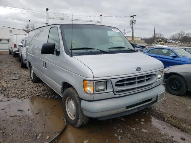 Salvage cars for sale from Copart Hillsborough, NJ: 2002 Ford Econoline