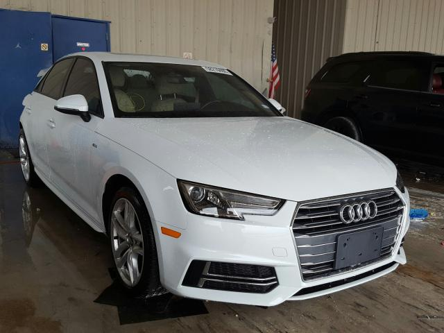 Salvage cars for sale from Copart Homestead, FL: 2017 Audi A4 Ultra P