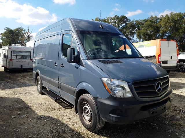 Salvage cars for sale from Copart Ocala, FL: 2018 Mercedes-Benz Sprinter 2