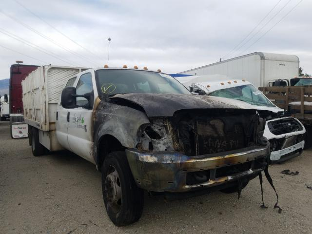 Salvage cars for sale from Copart Rancho Cucamonga, CA: 2004 Ford F450 Super