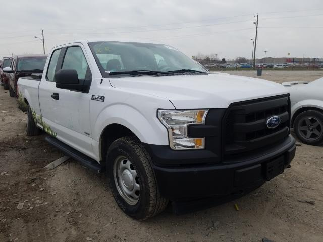 Salvage cars for sale from Copart Indianapolis, IN: 2017 Ford F150 Super