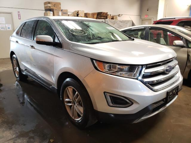 Vehiculos salvage en venta de Copart Elgin, IL: 2017 Ford Edge SEL
