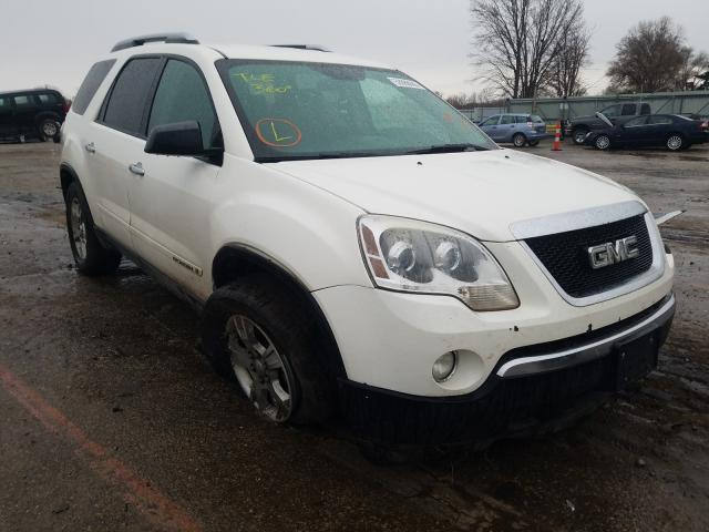 Salvage cars for sale from Copart Wichita, KS: 2007 GMC Acadia SLE