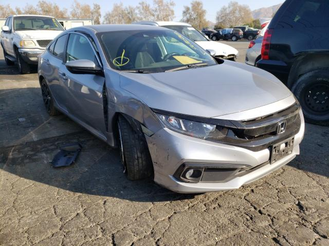 Salvage cars for sale from Copart Colton, CA: 2019 Honda Civic Sport