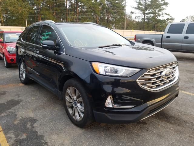 Ford Edge Titanium salvage cars for sale: 2019 Ford Edge Titanium