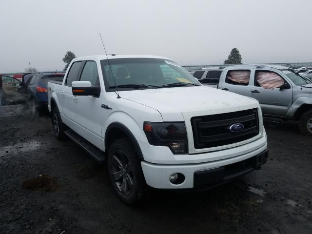 Salvage cars for sale from Copart Airway Heights, WA: 2014 Ford F150 Super