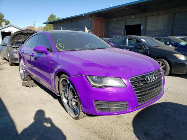 Salvage cars for sale from Copart Hayward, CA: 2013 Audi A7 Premium