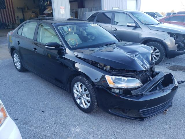 Salvage cars for sale from Copart Rogersville, MO: 2012 Volkswagen Jetta SE